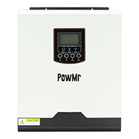 PowMr 24V 3KW Solar Inverter Charge PWM 50A Solar Charge Controller