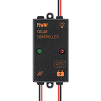 PowMr 3A 5A 6V/12V Solar Charge Controller IP65 Waterproof
